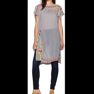 NEW Johnny Was Janice Tunic Embroidered